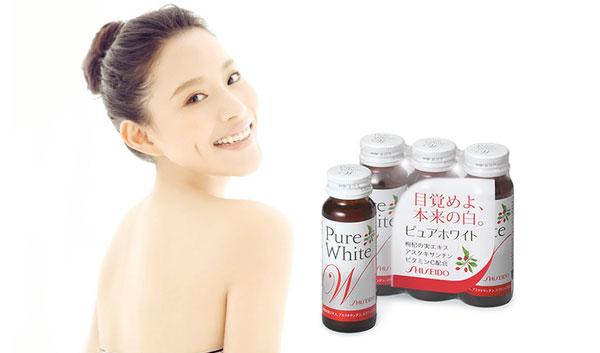 Collagen Shiseido Pure White có tốt không, vì sao lại được ưa chuộng ?