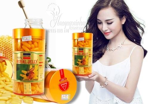 Sữa ong chúa Costar Royal Jelly 1450mg chính hãng Úc hộp 365 viên 4