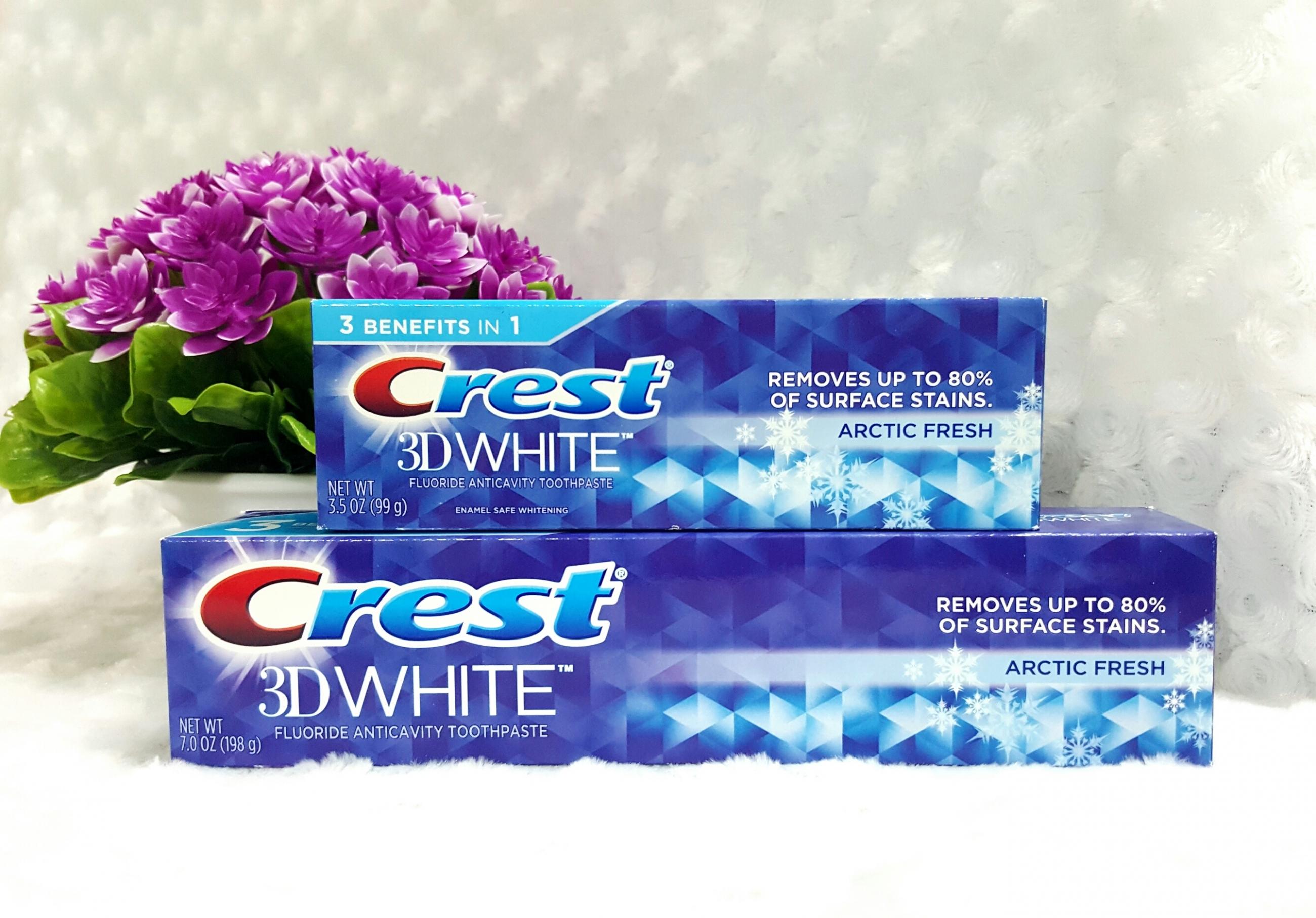 Đánh giá sản phẩm kem đánh răng Crest 3D White