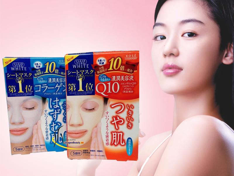 Ưu điểm của sản phẩm mặt nạ Kose Collagen