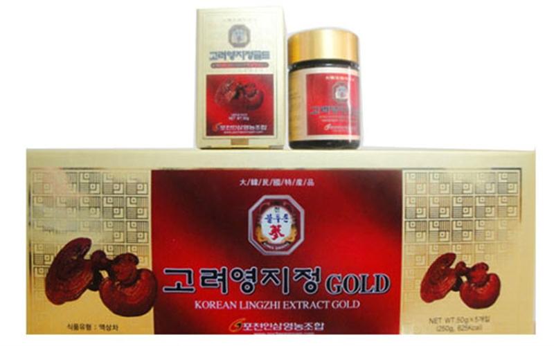 Nơi bán korean lingzhi extract gold  uy tín chất lượng