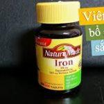 Iron nature made 365 viên có tốt không ?