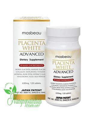 Viên uống trắng da Mosbeau dưỡng da một cách tự nhiên