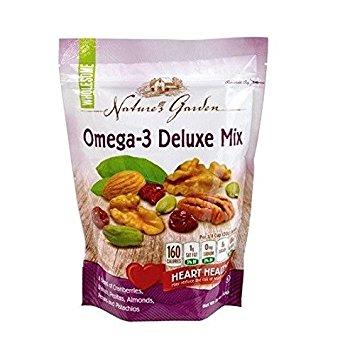 Hạt sấy khô Nature's Garden Omega-3 Deluxe Mix giá bao nhiêu?
