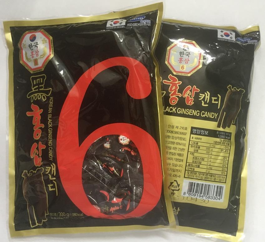 Kẹo sâm đen Hàn Quốc có tác dụng gì?