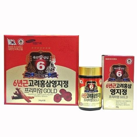 Giá cao hồng sâm linh chi Hàn Quốc thượng hạng tại đại lý cấp 1