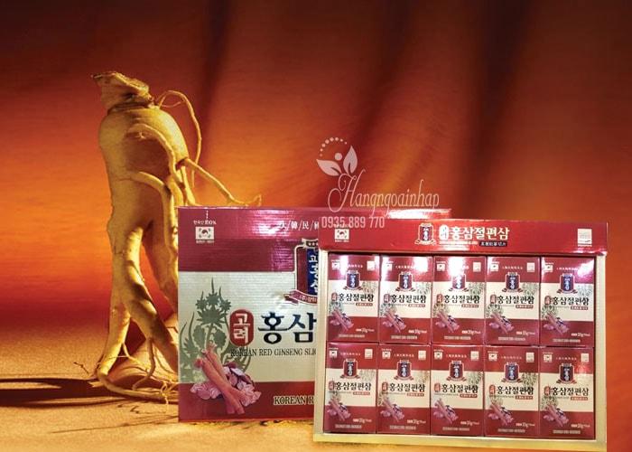 Hồng sâm Korean Red Ginseng Sliced giá bao nhiêu? Mua ở đâu?