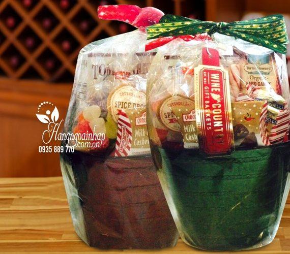Giỏ quà tết Wine Country - Hàng nhập khẩu từ Mỹ