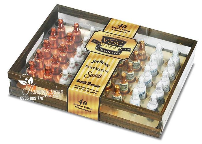 Socola nhân rượu hộp gỗ Jim Beam Remy Martin VSC mua ở đâu?