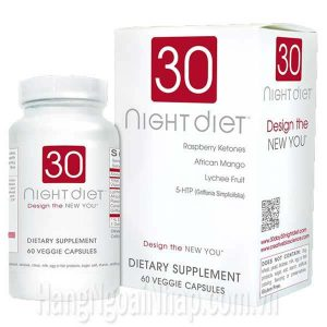 Thuốc giảm cân 30 day diet 60 viên