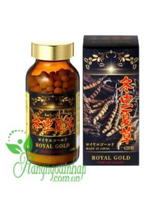 Viên uống đông trùng hạ thảo Tohchukasou Royal Gold