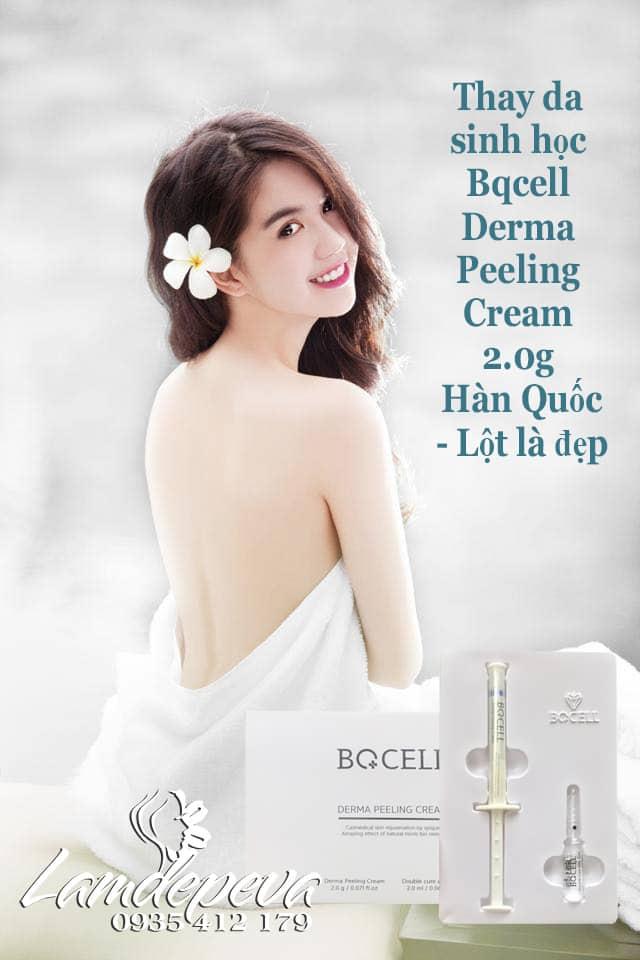 Thay da sinh học Bqcell Derma Peeling Cream 2g chính hãng Hàn quốc