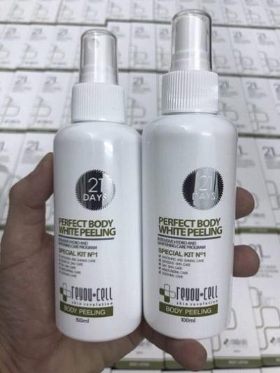 Bộ dưỡng trắng 21 Days Perfect Body White Reyou-cell 5