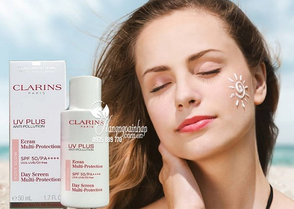 Kem chống nắng Clarins UV Plus Anti-Pollution SPF50 2
