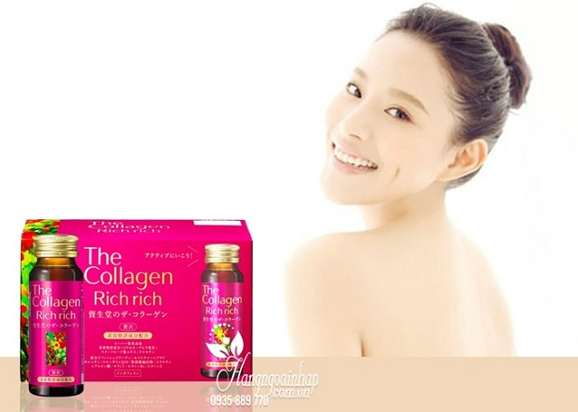 The Collagen Rich Rich Shiseido dạng nước 2