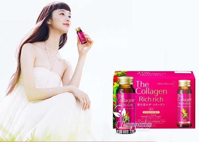 The Collagen Rich Rich Shiseido dạng nước 1