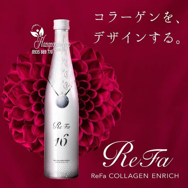Review về collagen dạng nước của Refa 1