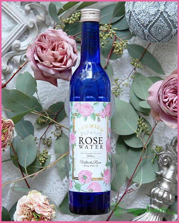 Nước uống hoa hồng Rose Water 500ml 1