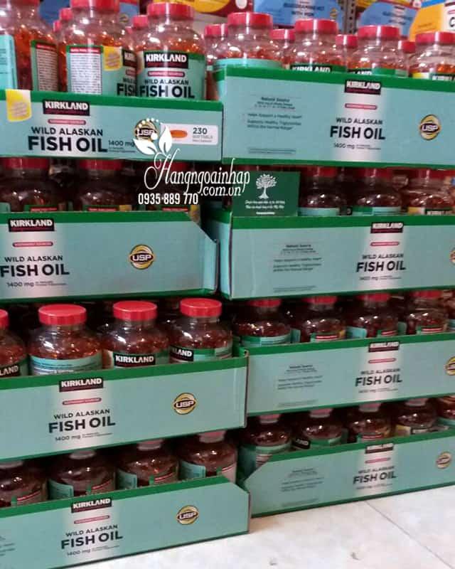 Dầu cá Alaskan Kirkland Wild Alaskan Fish Oil 1400mg 1