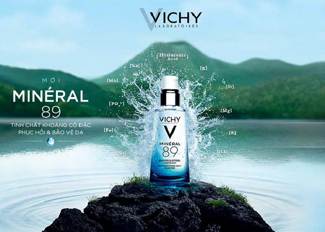 Dưỡng chất khoáng cô đặc Vichy Mineral 89 1