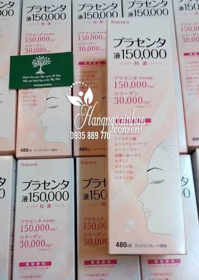 Nước uống nhau thai cừu Nhật Bản Fracora Placenta 150.000mg 3