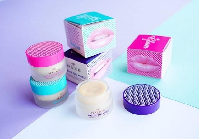 Son dưỡng môi Nuxe Reve De Miel Lip Balm dạng hũ 15g của Pháp 1