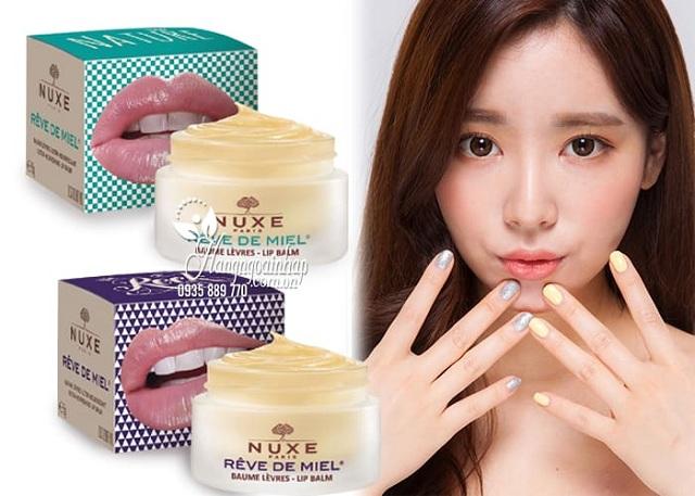 Son dưỡng môi Nuxe Reve De Miel Lip Balm dạng hũ 15g của Pháp 2