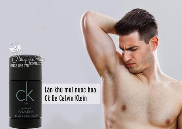 Lăn khử mùi nước hoa Calvin Klein CK Be 75g 2
