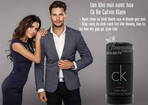 Lăn khử mùi nước hoa Calvin Klein CK Be 75g 1