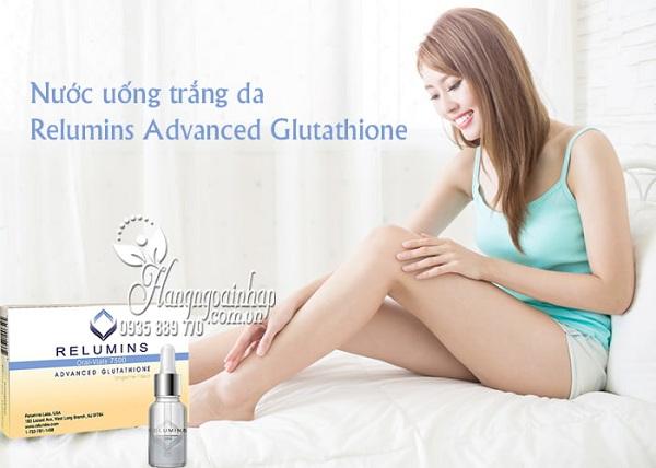 nước uống trắng da Relumins Advanced Glutathione 7500mg q1
