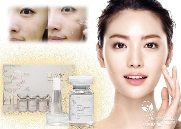 Serum tế bào gốc Elravie Derma White Brightening Ampoule Hàn Quốc 4