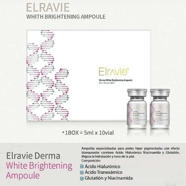 Serum tế bào gốc Elravie Derma White Brightening Ampoule Hàn Quốc 1