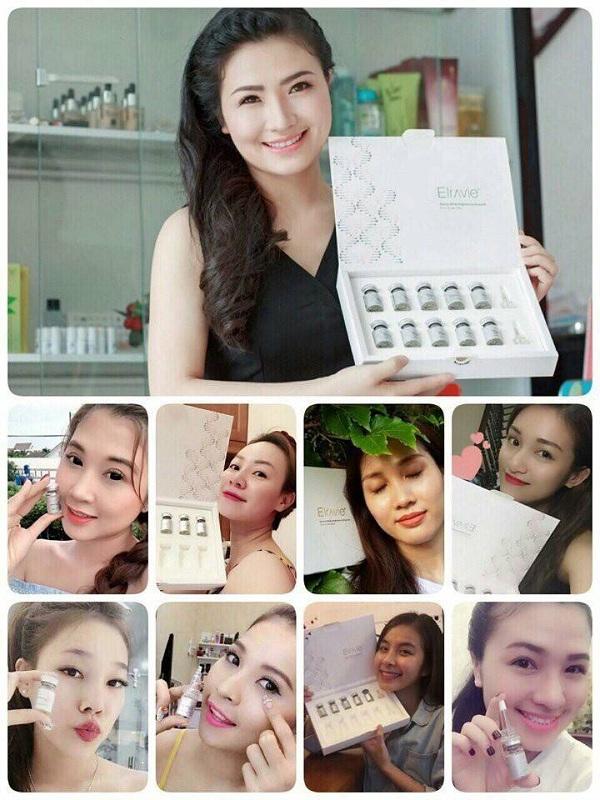 Serum tế bào gốc Elravie Derma White Brightening Ampoule Hàn Quốc 5