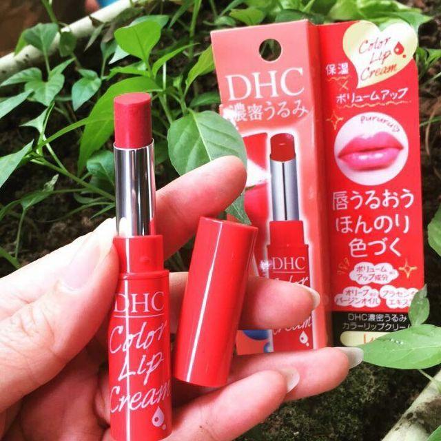 Son dưỡng có màu DHC Color Lip Cream 1