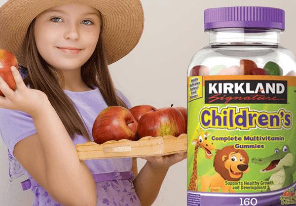 Kẹo dẻo Kirkland Childrens Complete Multivitamin Gummies 3