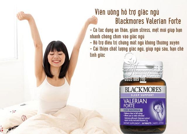 Viên uống hỗ trợ giấc ngủ Blackmores Valerian Forte hiệu quả, an toàn 2