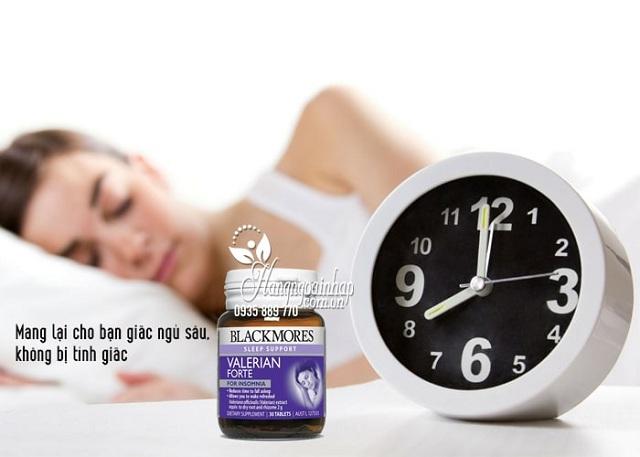 Viên uống hỗ trợ giấc ngủ Blackmores Valerian Forte hiệu quả, an toàn 3