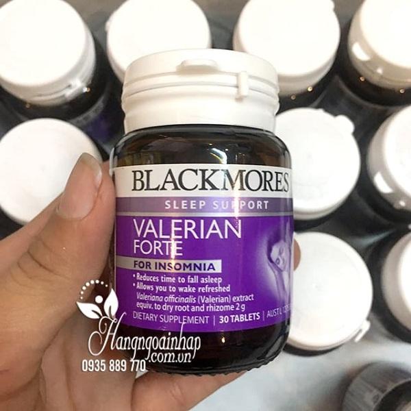 Viên uống hỗ trợ giấc ngủ Blackmores Valerian Forte hiệu quả, an toàn 1
