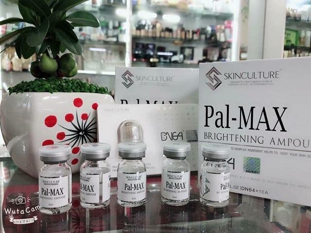 Set cấy trắng da Pal-Max Brightening Ampoule của Hàn Quốc 1