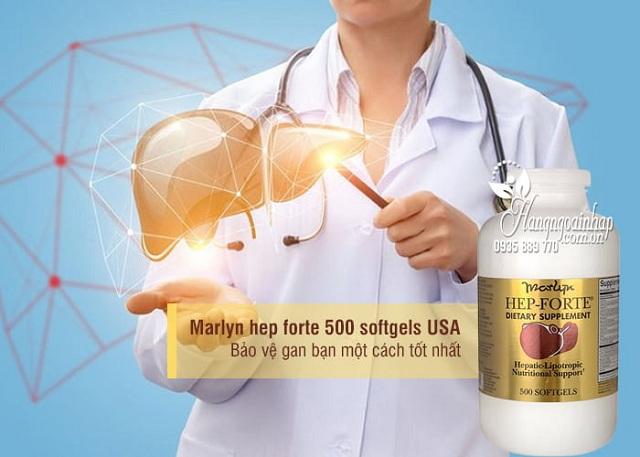 Thuốc bổ gan Marlyn Hep Forte 500 viên số 1 của Mỹ 3