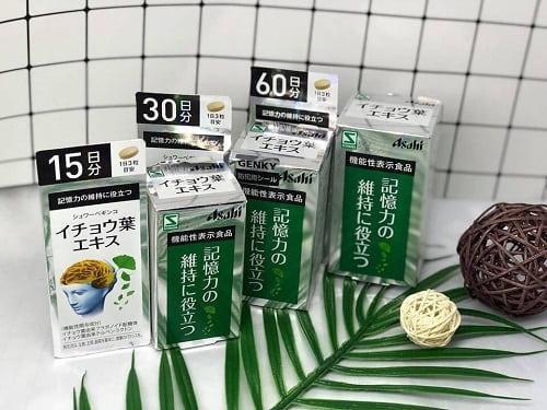 Thuốc bổ não Asahi của Nhật giá bao nhiêu? Mua ở đâu chính hãng?