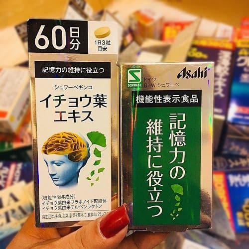 Thuốc bổ não Asahi của Nhật giá bao nhiêu-3