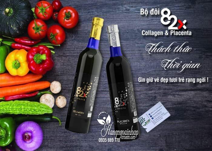 Bộ đôi Collagen & Placenta 82x Sakura thách thức thời gian 1