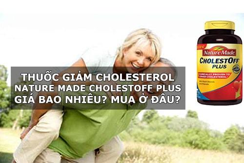 Thuốc giảm cholesterol Nature Made CholestOff Plus giá bao nhiêu? Mua ở đâu chính hãng?