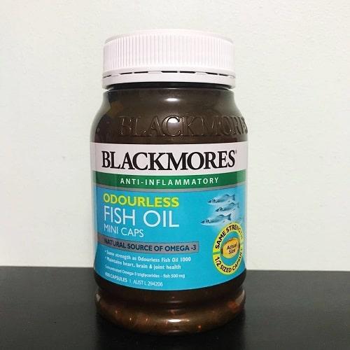 Viên uống dầu cá Blackmores Odourless Fish Oil Mini Caps giá bao nhiêu-2