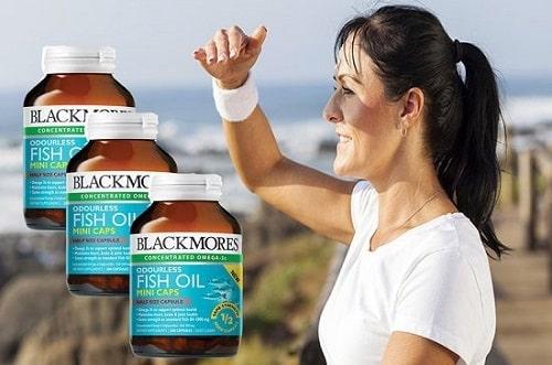 Viên uống dầu cá Blackmores Odourless Fish Oil Mini Caps giá bao nhiêu-3
