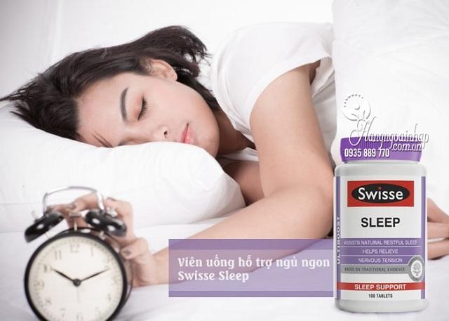 Viên uống giúp ngủ ngon Swisse Sleep 100 viên - Hàng Úc chính hãng 23