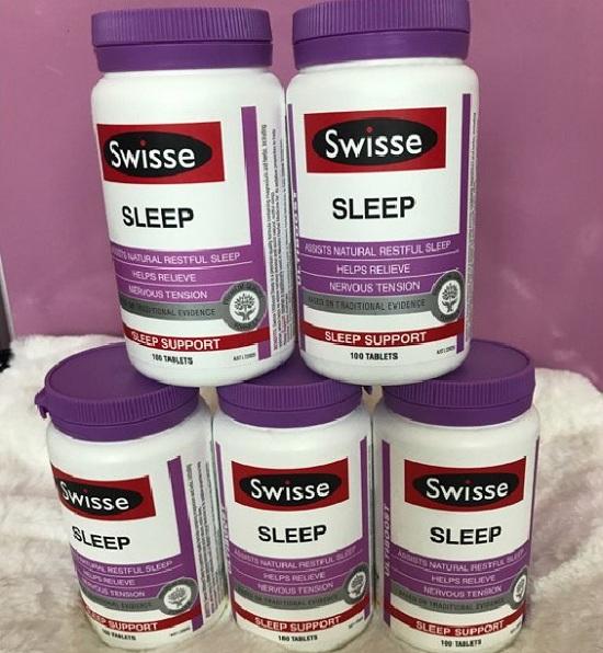 Viên uống giúp ngủ ngon Swisse Sleep 100 viên - Hàng Úc chính hãng 2