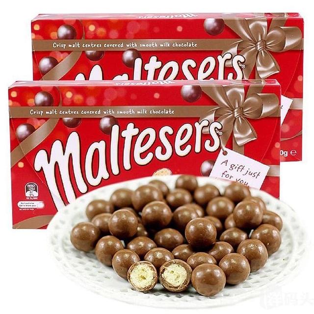 Socola Maltesers 360g - hộp bánh viên socola làm quà tặng 3