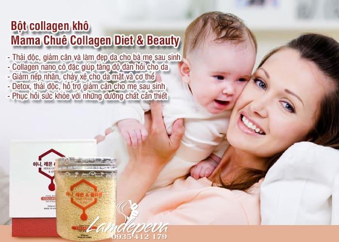 Bột collagen khô Mama Chuê Collagen Diet & Beauty 250g 5